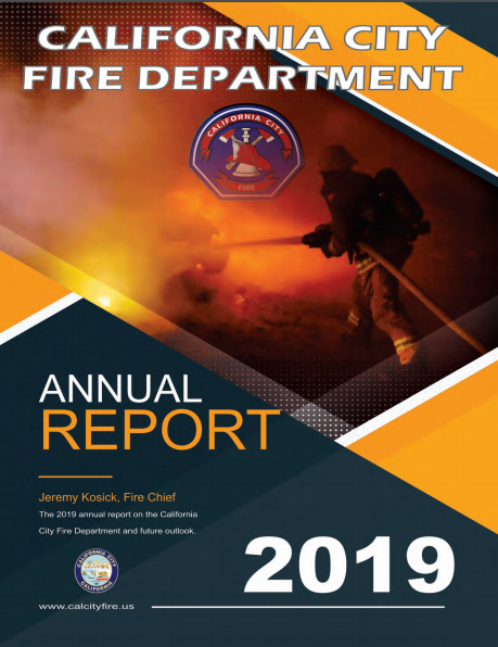 2019 Annual Fire Department Report