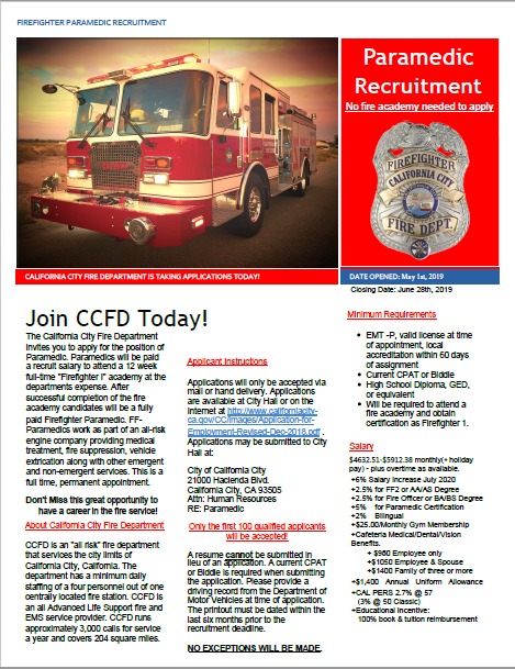Join CCFD Today!