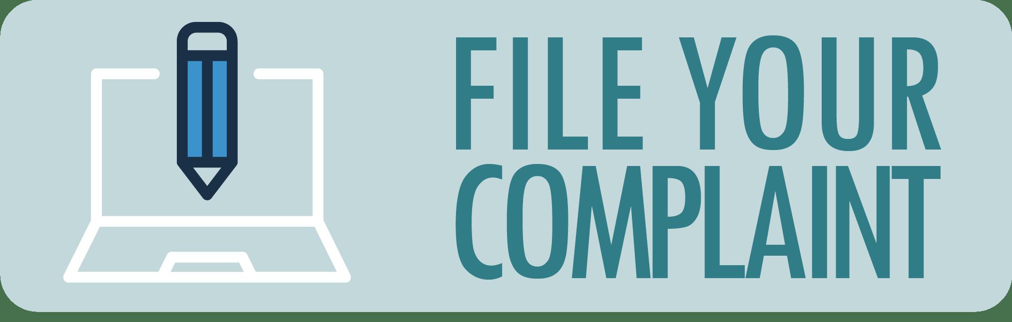 File a Complaint Button